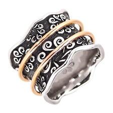 BOHEMME Ring, 925 Sterling Silber und 750 Gold, Gr. 57 / 18,1 mm, NEU+OVP P009