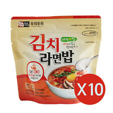 Korean Food Kimchi Noodle Rice Ramenbap Korean MRE Hot Water Need Only * 10EA