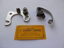 RILEY RM TRIUMPH Renown TR SINGER STANDARD VAUX Wyvern 1950s Contact Set 420196
