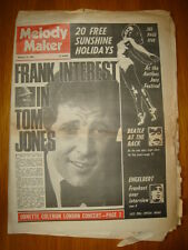 MELODY MAKER 1968 FEB 24 SINATRA BEATLES TOM JONES