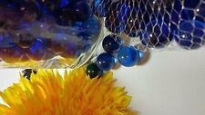 Vase Fillers, Glass Marbles, Gem Marbles. 6 bags (1-lb ea). Color: Cobalt Blue