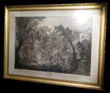 WATTEAU (Antoine) / CARDON - La Signature du contrat de la noce de village.