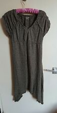 DKNY Donna Karan Stripped Cotton Asymmetric Dress Size