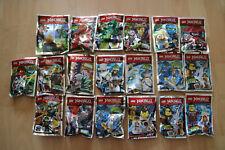 LEGO Ninjago Limited Edition Figuren aus Magazinen - 19 Figuren