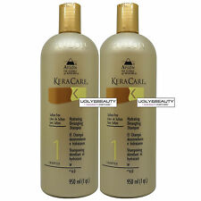 "Keracare Hydrating Detangling Shampoo 950 ml / 1 qt. ""Pack of 2"" with Free Gift"