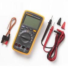 Fluke F17b Multimeter Palm Sized Portable Handheld Digital Tester Yellow