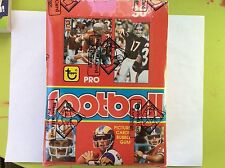 1981 TOPPS FOOTBALL IN A 1979 BOX AND WRAPPERS AUTH  BY THE BBCE