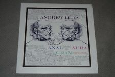 """Andrew Liles~Anal Aura Gram(ophone)~Blue Vinyl LP with 7""""~FAST SHIPPING!!"""