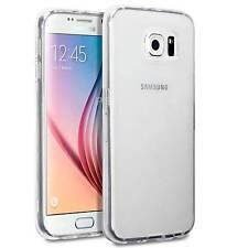 Housse Coque Etui Gel TPU Transparent pour Samsung Galaxy S6 Edge