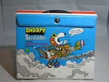 Rare Vintage Peanuts Gang Skediddler Sopwith Camel Snoopy