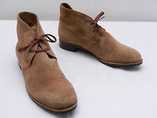 VIA SPIGA Womens 6.5 Brown Suede Chukka Laced Desert Ankle Boots Booties Shoes