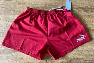 Puma Rugby Match Short Cotton Red XXL Rugby Union Or League