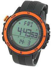 LAD WEATHER German Sensor Orange Weather Forecast Digital Compass Outdoor Watch
