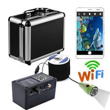 HD Wifi Wireless 20M Underwater Fishing Camera Fish Finder 6 PCS 1W White LEDs