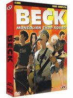 4 Dvd Box Set Cofanetto BECK MONGOLIAN CHOP SQUAD serie completa nuovo