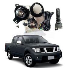 For Nissan Frontier Navara 2005-2014 D40 Fog Lights Kit +Bracket Switch Wiring