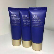 Estee Lauder Advanced Night Micro Cleansing Foam  New  30ml x 3