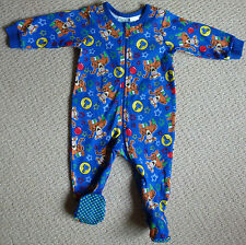 NWT Disney Baby Licensed Tigger Boys Romper Coverall Size 00 or 0