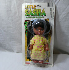 "New ListingLittle Sasha * Manley 1996 Doll * Sealed Package Vintage 7"" 73-701 Afro-Fashions"