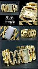 Ladies Luxury Cavadini WATCH EASY GREAT & Wonderful with Box Papers