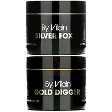 BY VILAIN Gold Digger Silver Fox Hair Wax Bundle FREE SAME DAY Shipping New