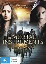 The Mortal Instruments City of Bones No Ultraviolet  Region 4 DVD in VG - EX
