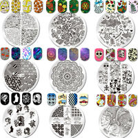 Nail Stamping Image Plates Template Stencil Nail Art Stainless Steel Born Pretty