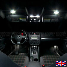 Vw golf MK5 v R32 gti sdi tdi interior light ampoules set kit-xenon blanc pur