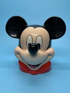 "Disney Mickey Mouse Ceramic Bank 6"""
