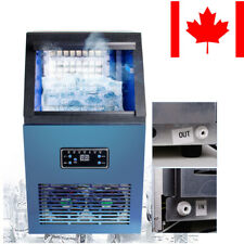 Durable Auto Commercial Ice Maker Cube Machine Stainless Steel Bar 230W CA FDA