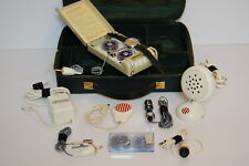 Vintage-Minifon Recorder, Spy microphone watch, factory kit -fully-functional