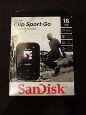 SanDisk - Clip Sport Go 16GB* MP3 Player - Black BRAND NEW! SEALED!