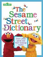The Sesame Street Dictionary (Sesame Street): Over 1,300 Words and Their Meaning