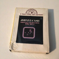 JOHNNY CASH & TENNESSEE TWO - Golden Hits Vol. 1 - 8-Track Tape - EX  !!SEALED!!
