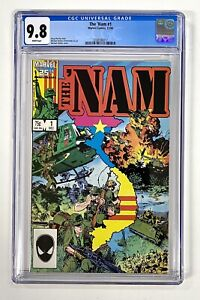 The 'Nam #1 CGC 9.8 Marvel Comics 12/86 in New Case - wk