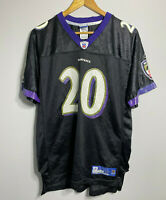 NFL Apparel Baltimore Ravens Jersey NFL Ed Reed 20 Football Jersey Youth Size XL