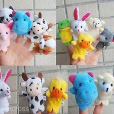 Decelopmental Baby Toys Funny Pattern Kid Child Finger Puppet PlayToy Dall 2pcs