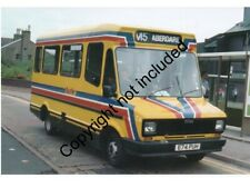 BUS PHOTO: NATIONAL WELSH FREIGHT ROVER SHERPA 74 E74PUH