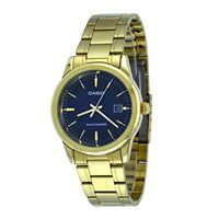 Casio MTP-VS01G-2A Men's Solar Gold Tone Stainless Steel Date Watch