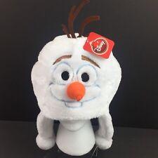 Disney Frozen Olaf Winter Soft Plush Beanie Ski Cap Laplander Hat Adult Child