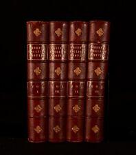 1894-1896 4Vols John Richard Green A Short History Of English People Leather