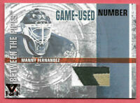2015-16 Manny Fernandez ITG Final Vault 2006-07 Between the Pipes Patch 1/1