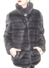 SALE Saga Mink Nerzjacke Nerzmantel GRAU coat Visone Pelliccia norka NEU!NEW!