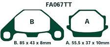 EBC Bremsbeläge FA067TT passt in KTM LC-4 EXC 500 Brembo Calipers 90-91