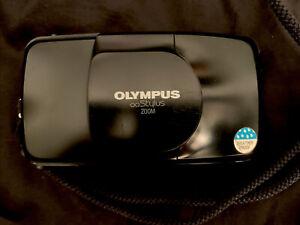 NICE Olympus Infinity Stylus Zoom DLX QD Film Point & Shoot Weatherproof TESTED