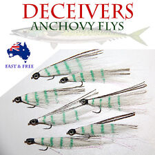 5x Deceiver Eyes Flies Fly Fishing Freshwater Bugs Fish Lure Lures BASS BREAM