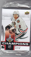 2015 UPPER DECK CHICAGO BLACKHAWKS STANLEY CUP CHAMPIONS TEAM SET SEALED 18 CARD