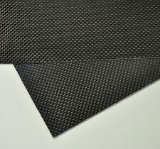100mmX250mmX1mm 100% Carbon Fiber plate panel sheet 3K plain Weave Glossy Hot