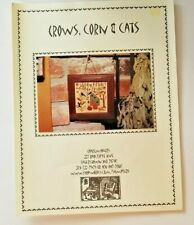 Chartmakers  Crows, Corn & Cats Counted Cross Stitch Chart