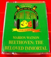 Marion Watson Beethoven: The Beloved Immortal 2-Tape Audio Full-Cast Drama
